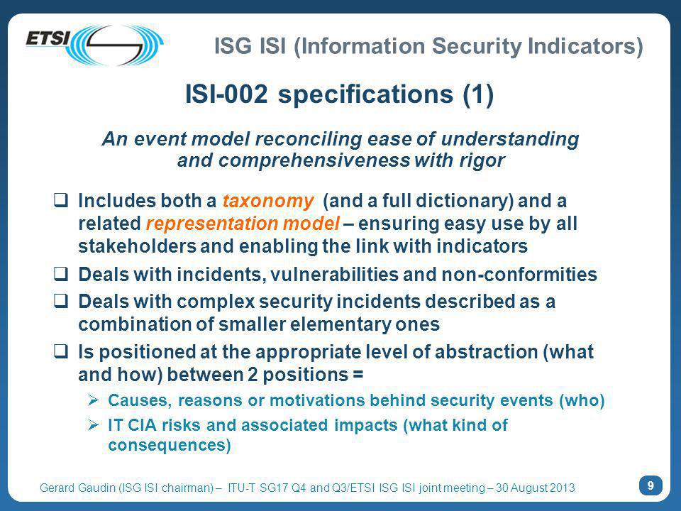 ISI-002 specifications (1)