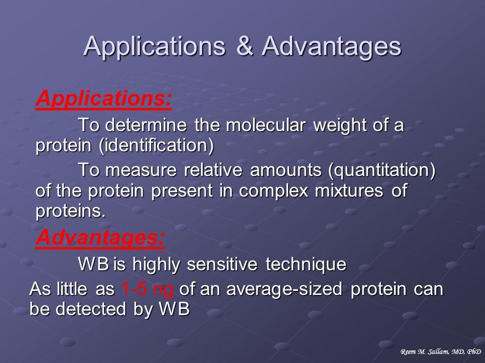 Applications & Advantages