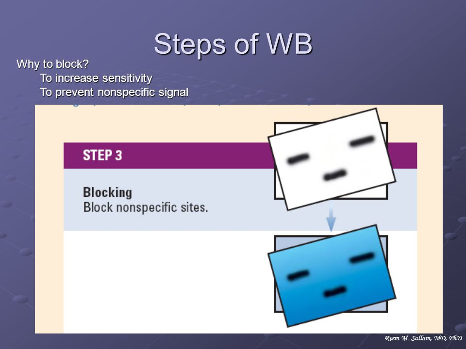 Steps of WB Why to block To increase sensitivity