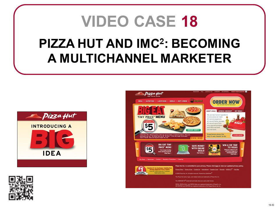 PIZZA HUT AND IMC2: BECOMING A MULTICHANNEL MARKETER