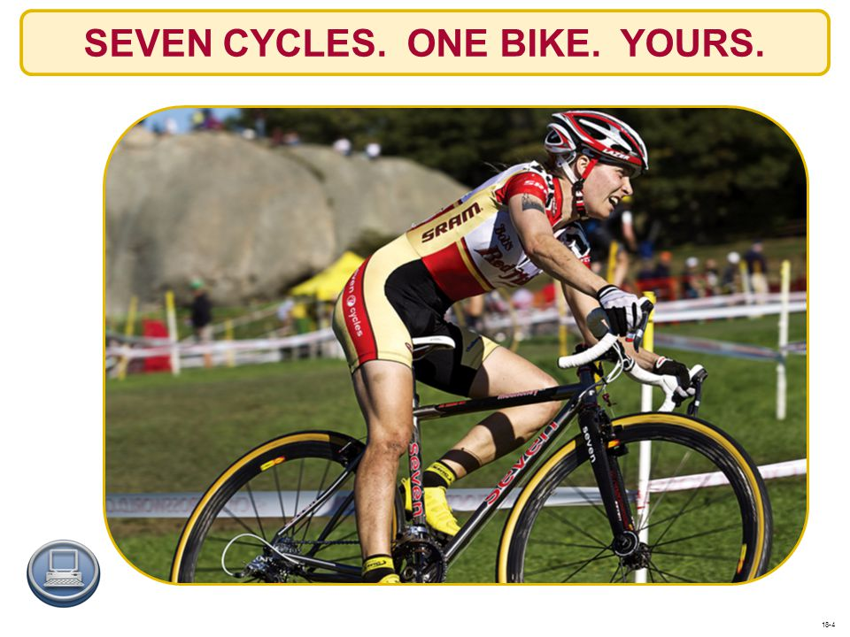 SEVEN CYCLES. ONE BIKE. YOURS.