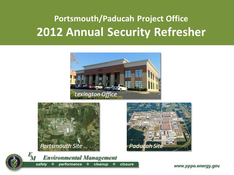 Portsmouth/Paducah Project Office