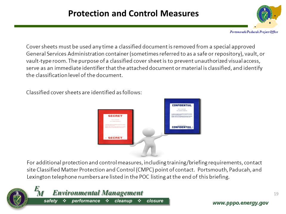 Protection and Control Measures