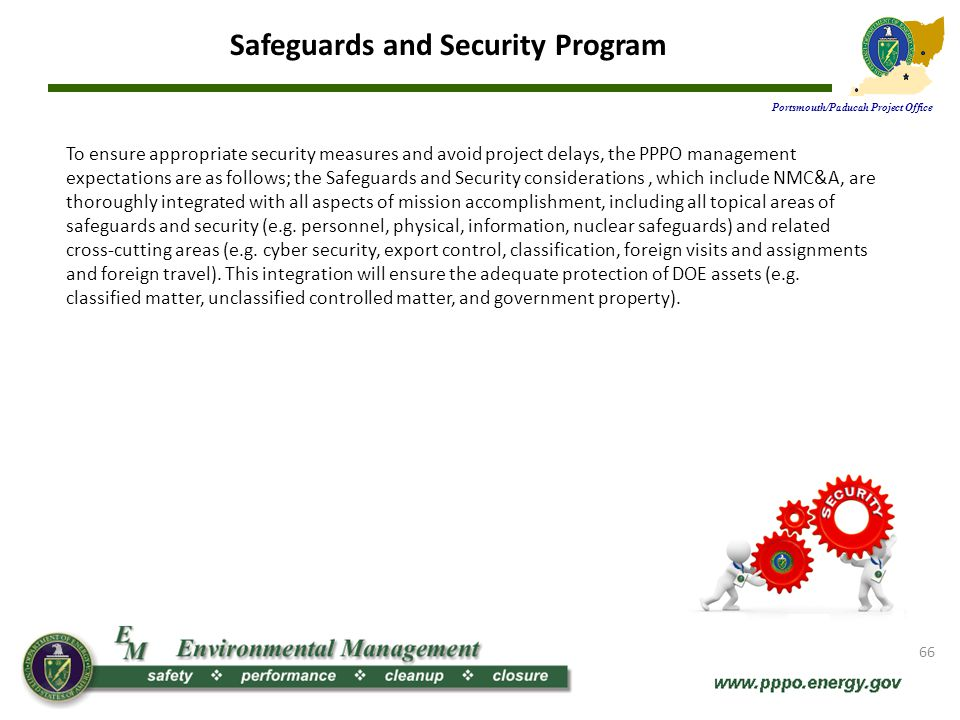 Safeguards and Security Program