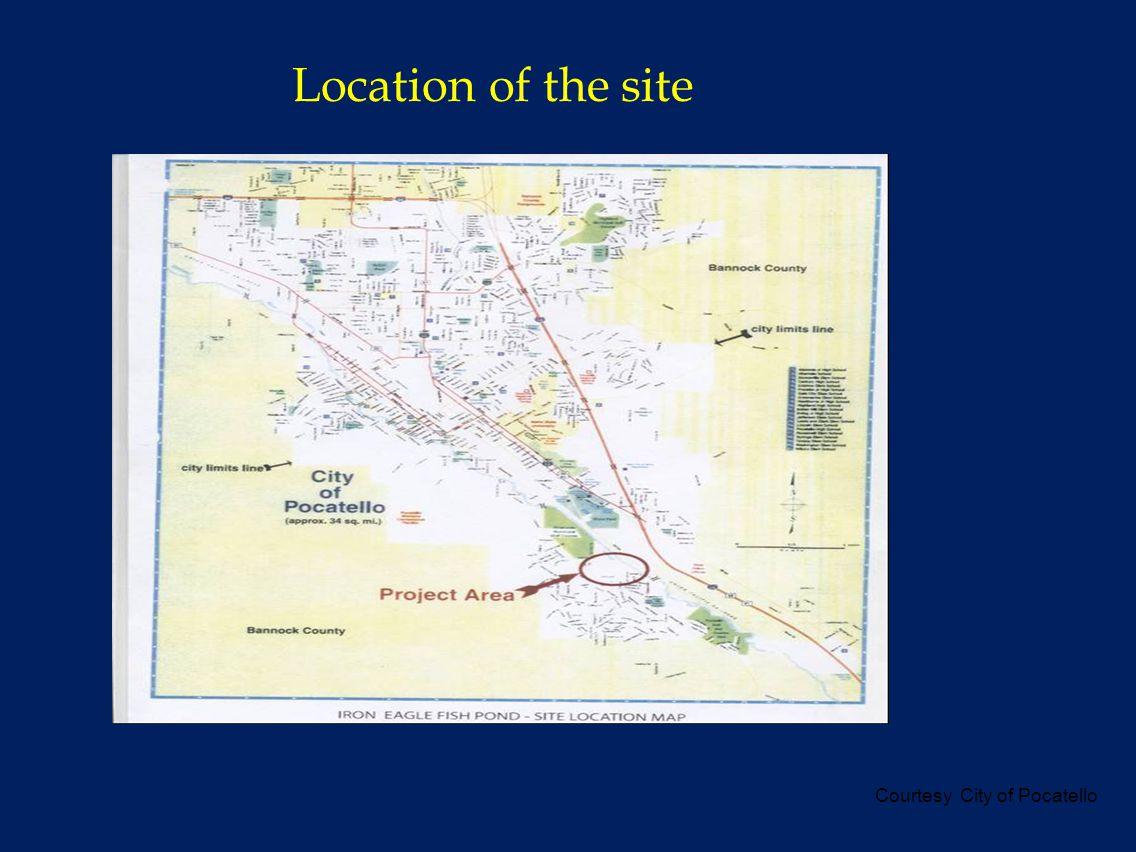 Location of the site Courtesy City of Pocatello