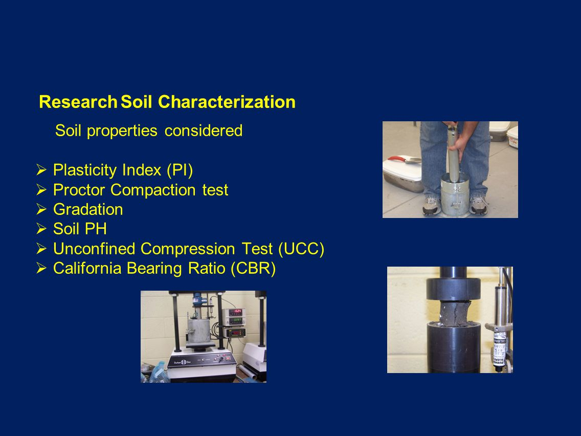 Research Soil Characterization