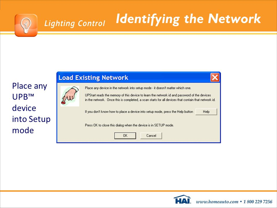 Identifying the Network