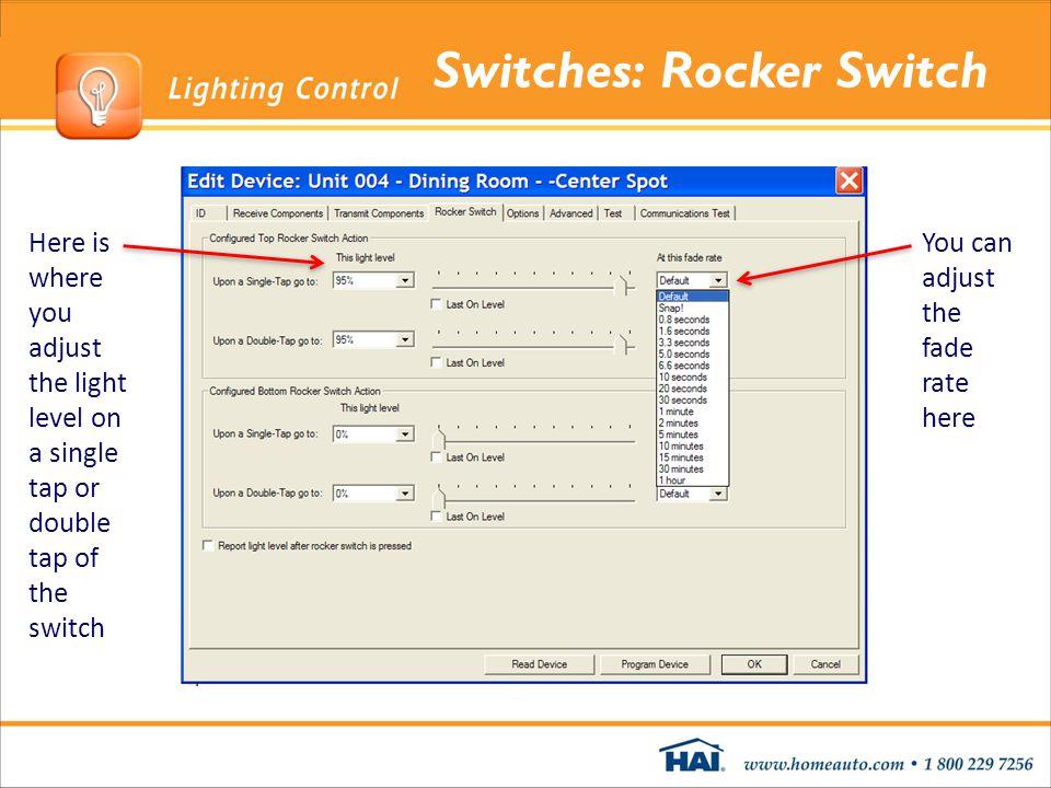 Switches: Rocker Switch