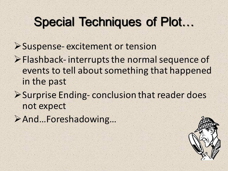 Special Techniques of Plot…