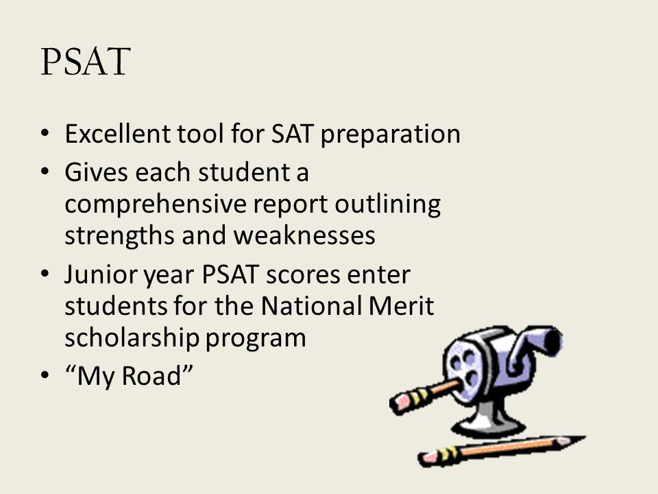 PSAT Excellent tool for SAT preparation