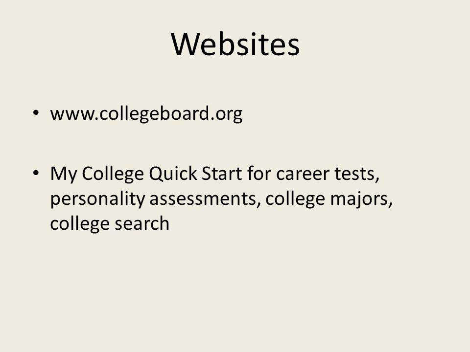 Websites www.collegeboard.org