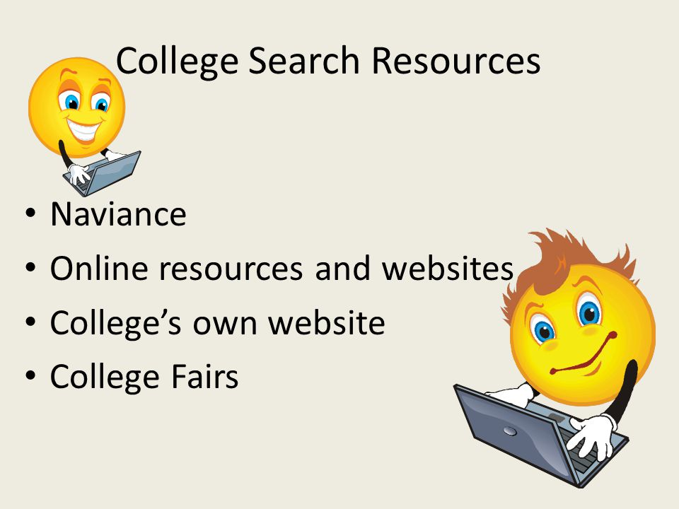 College Search Resources