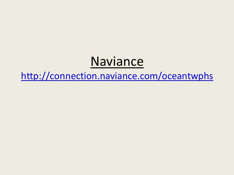 Naviance http://connection.naviance.com/oceantwphs