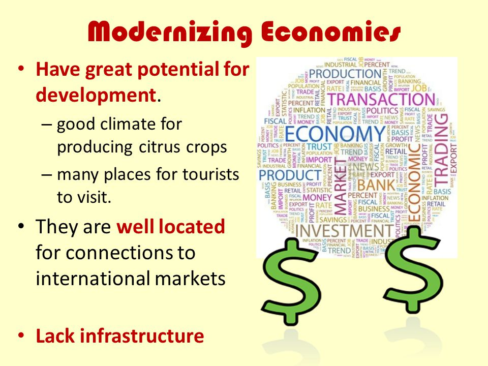 Modernizing Economies