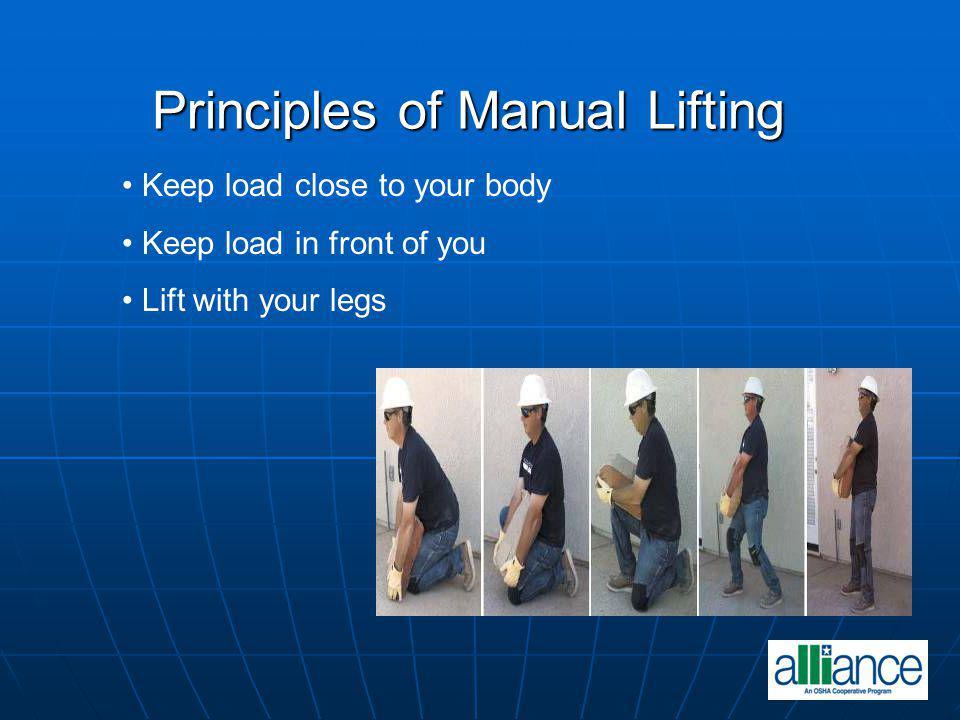 Principles of Manual Lifting