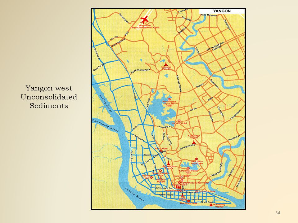 Yangon west Unconsolidated Sediments