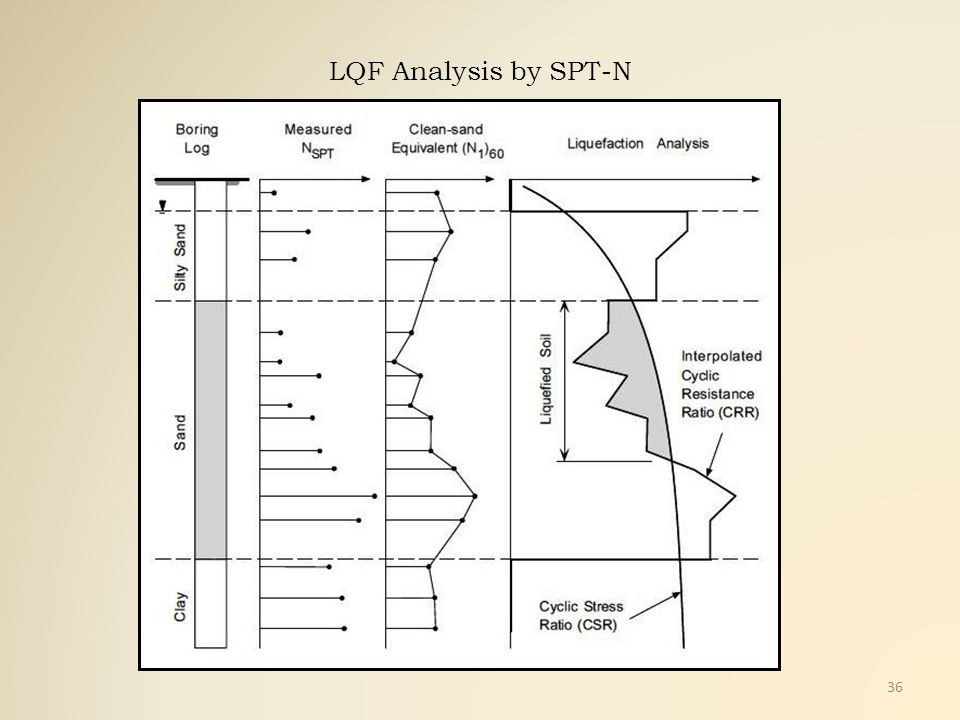 LQF Analysis by SPT-N