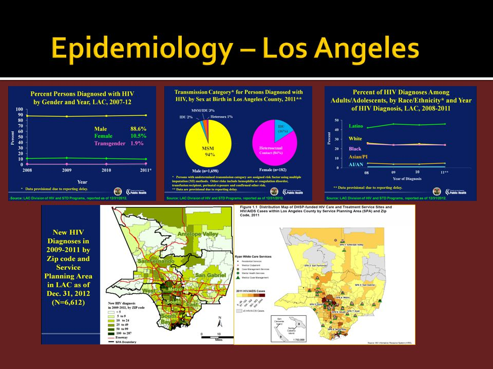 Epidemiology – Los Angeles