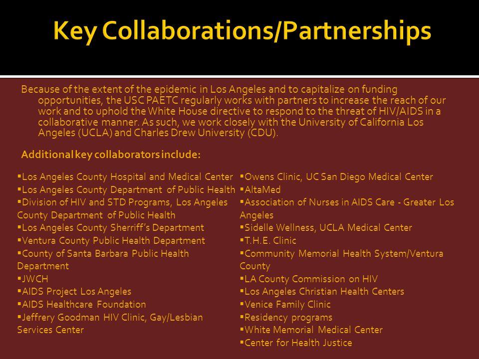 Key Collaborations/Partnerships