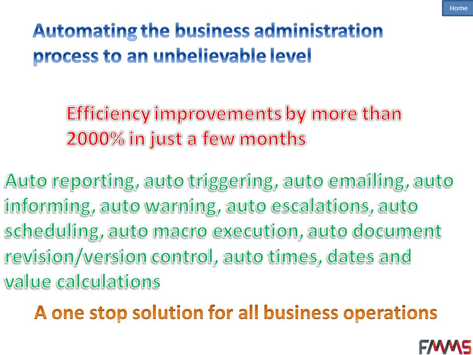 A one stop solution for all business operations