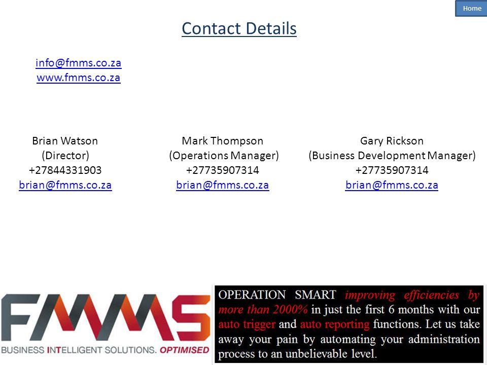 (Business Development Manager)