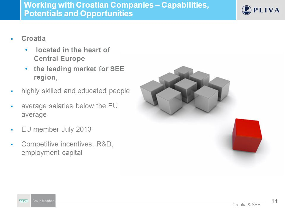 Working with Croatian Companies – Capabilities, Potentials and Opportunities