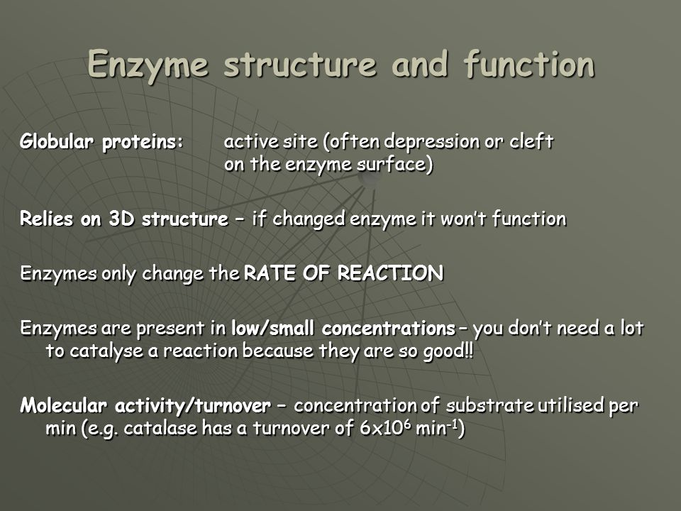 the structure and function of an enzyme Enzymes are biological molecules  how do enzymes work  they are vital for life and serve a wide range of important functions in the body, .