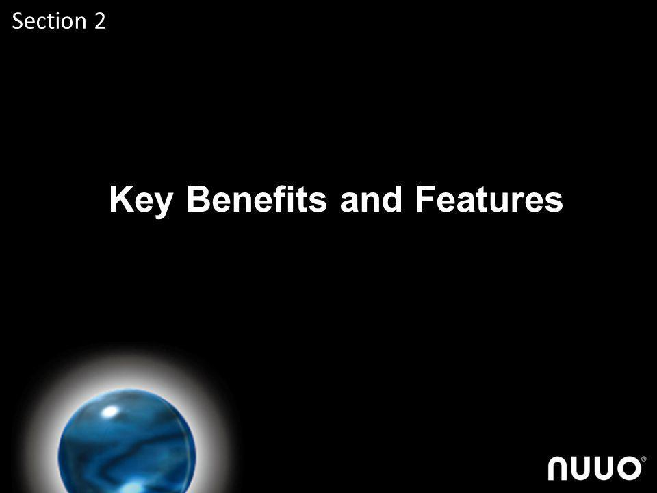 Key Benefits and Features