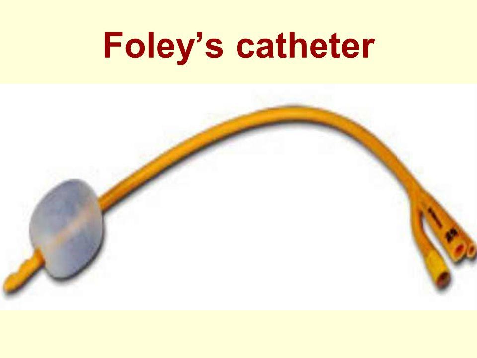 Foley's catheter