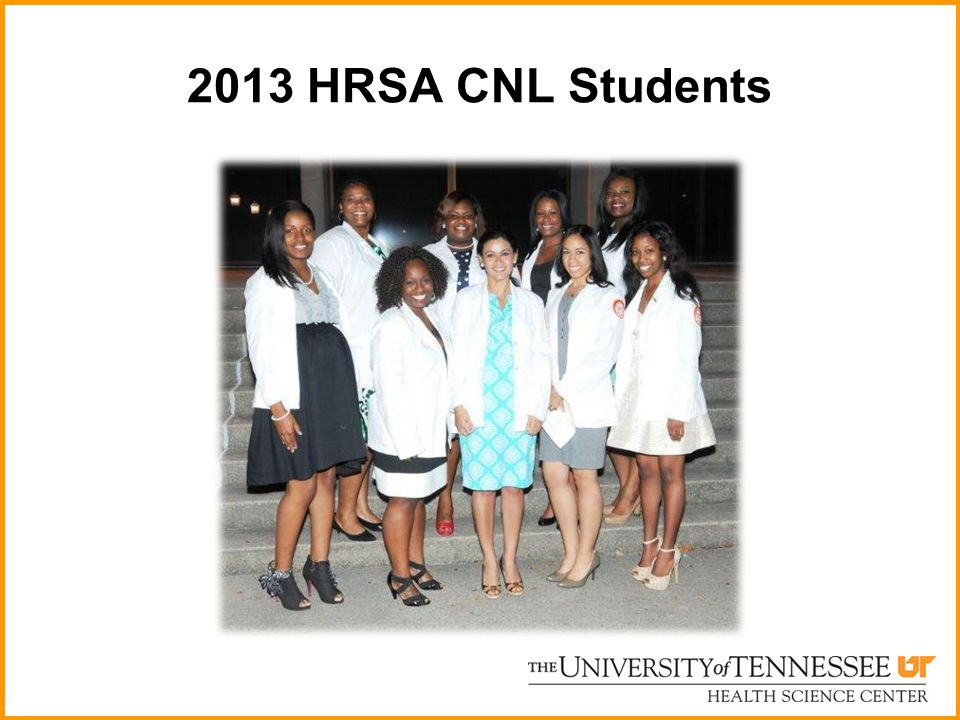 2013 HRSA CNL Students