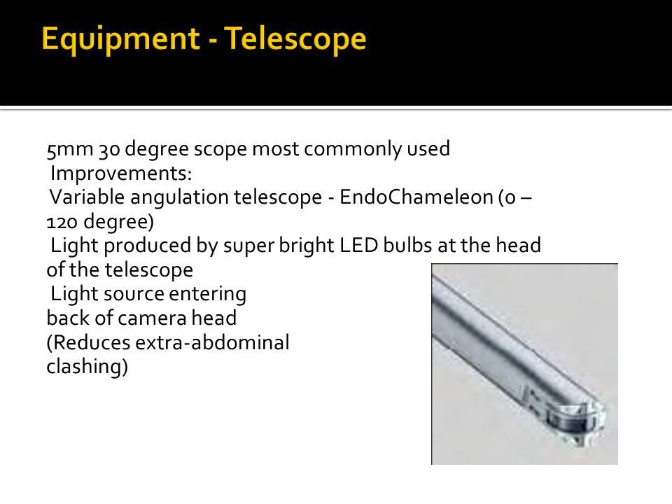 Equipment - Telescope