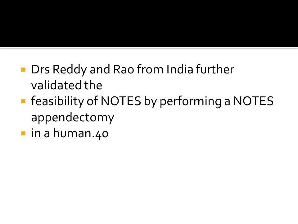 Drs Reddy and Rao from India further validated the