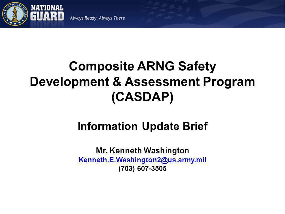 Composite ARNG Safety Development & Assessment Program (CASDAP)
