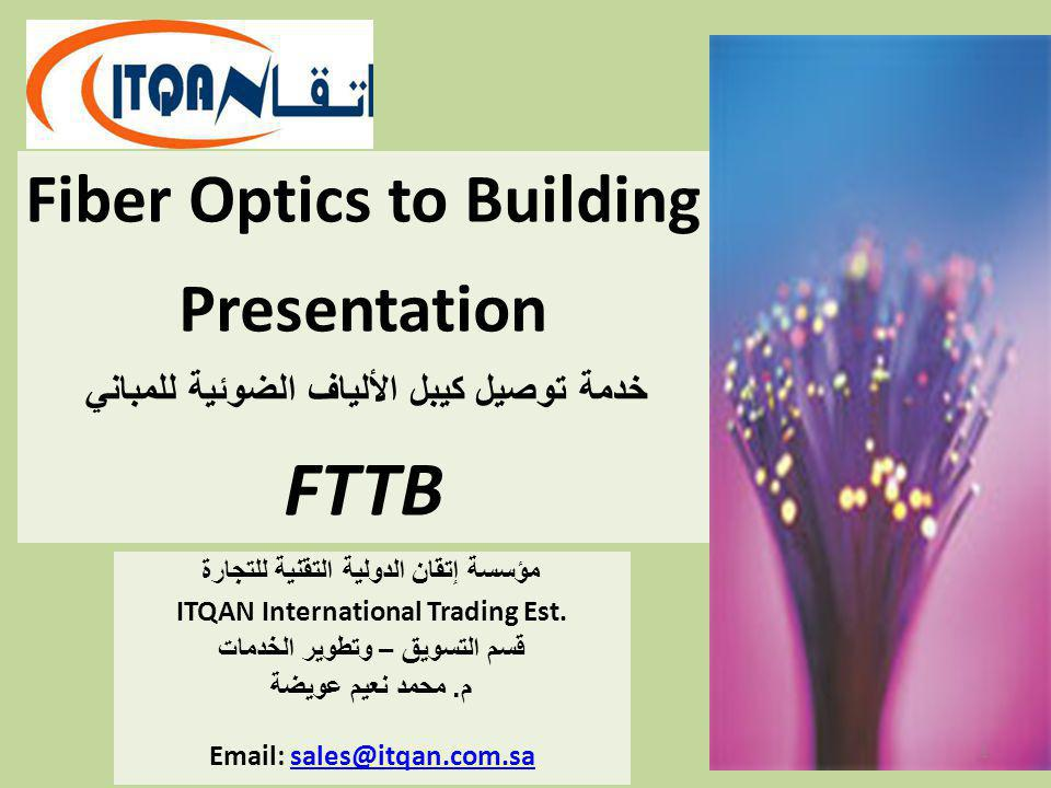 FTTB Fiber Optics to Building Presentation