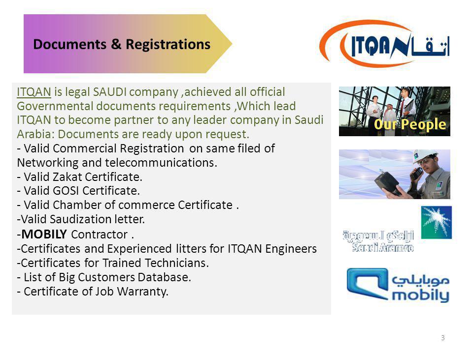 Documents & Registrations