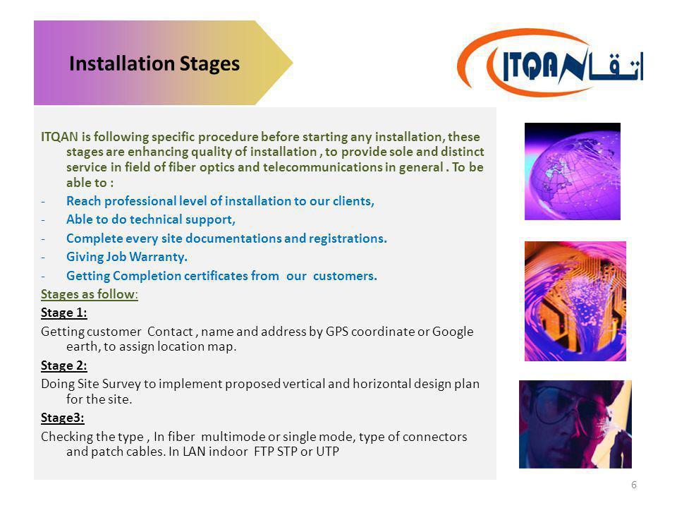 Installation Stages
