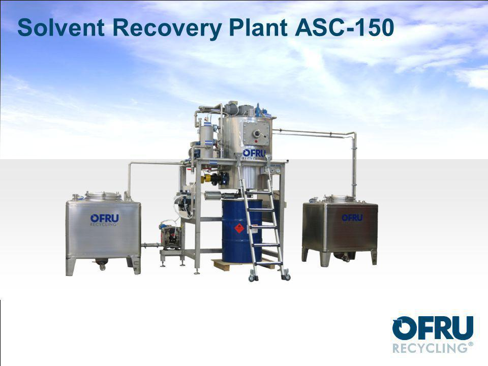 Solvent Recovery Plant ASC-150