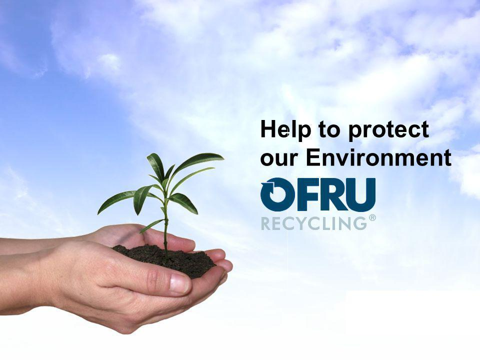 Help to protect our Environment