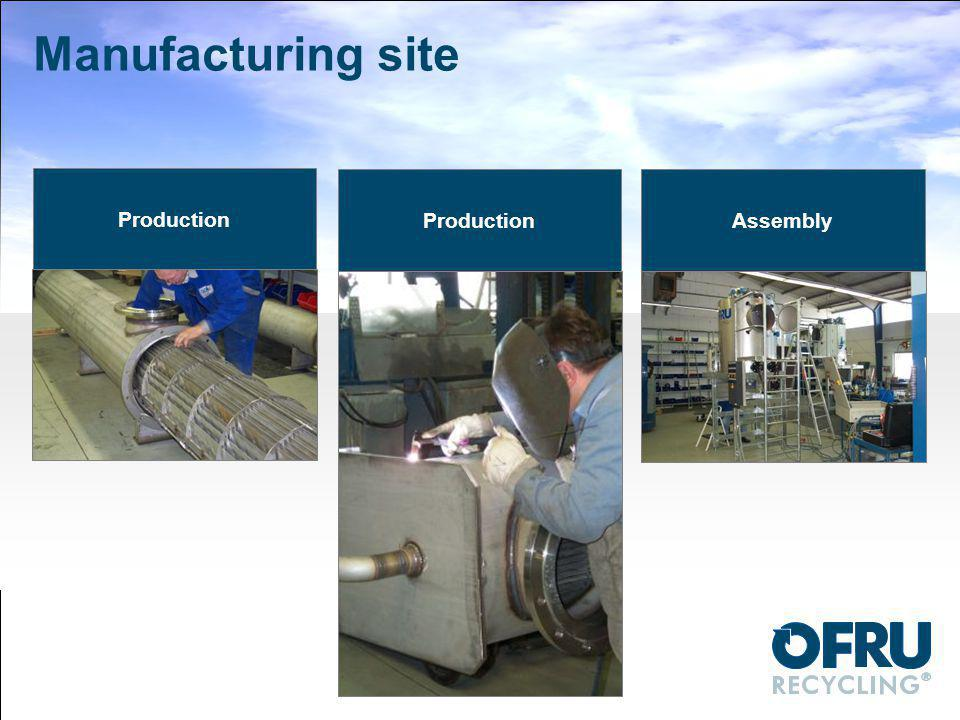 Manufacturing site Production Production Assembly
