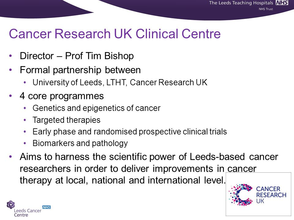 Cancer Research UK Clinical Centre