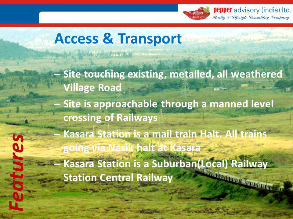 Features Access & Transport