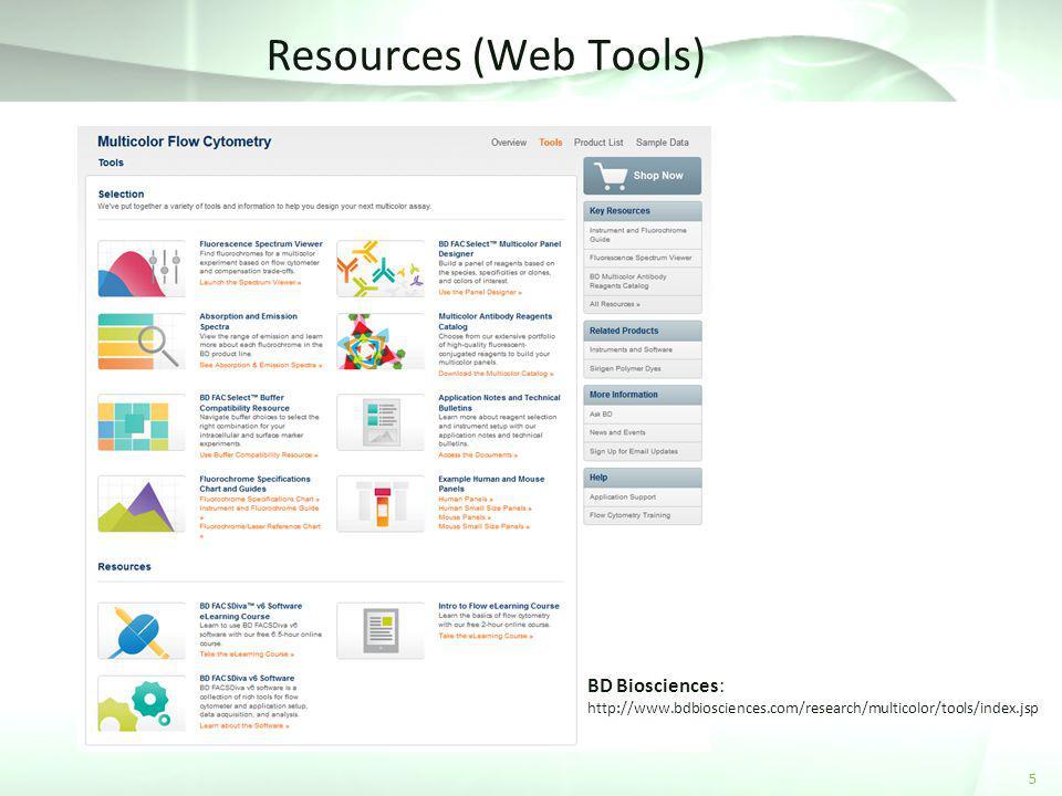 Resources (Web Tools) BD Biosciences: