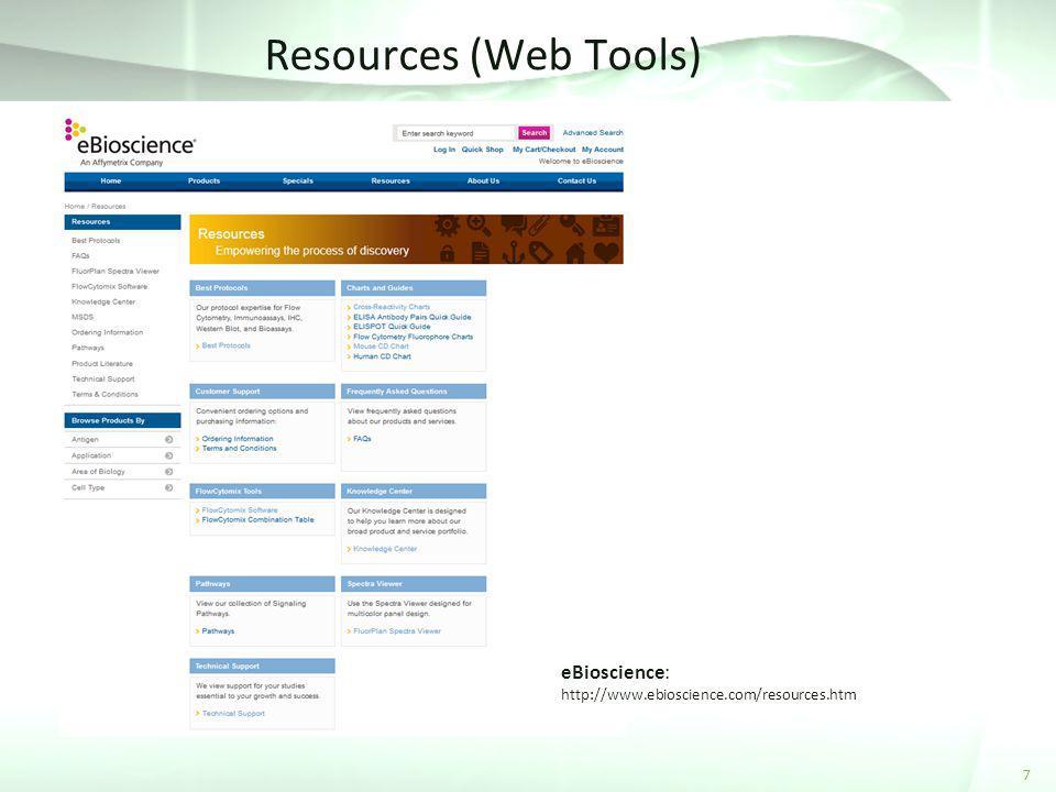 Resources (Web Tools) eBioscience: