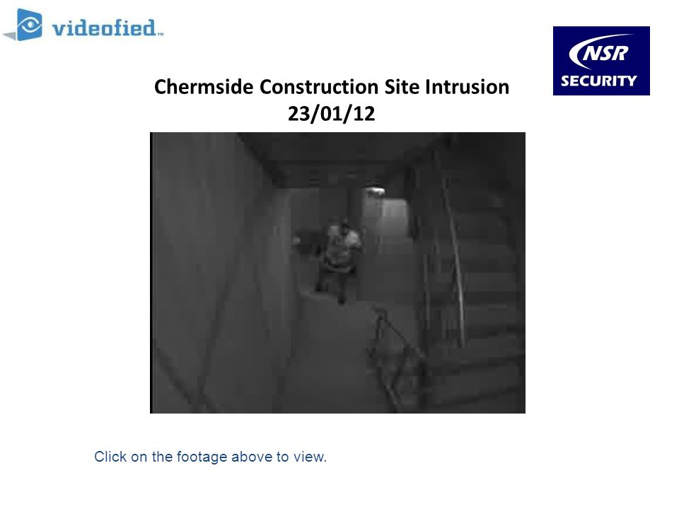 Chermside Construction Site Intrusion 23/01/12