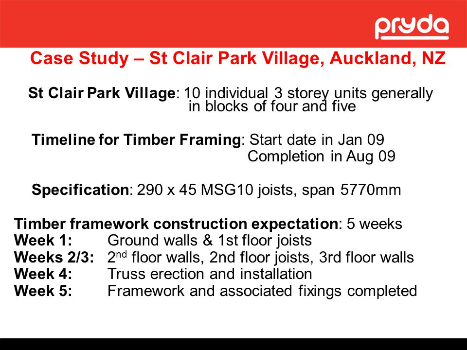 Case Study – St Clair Park Village, Auckland, NZ