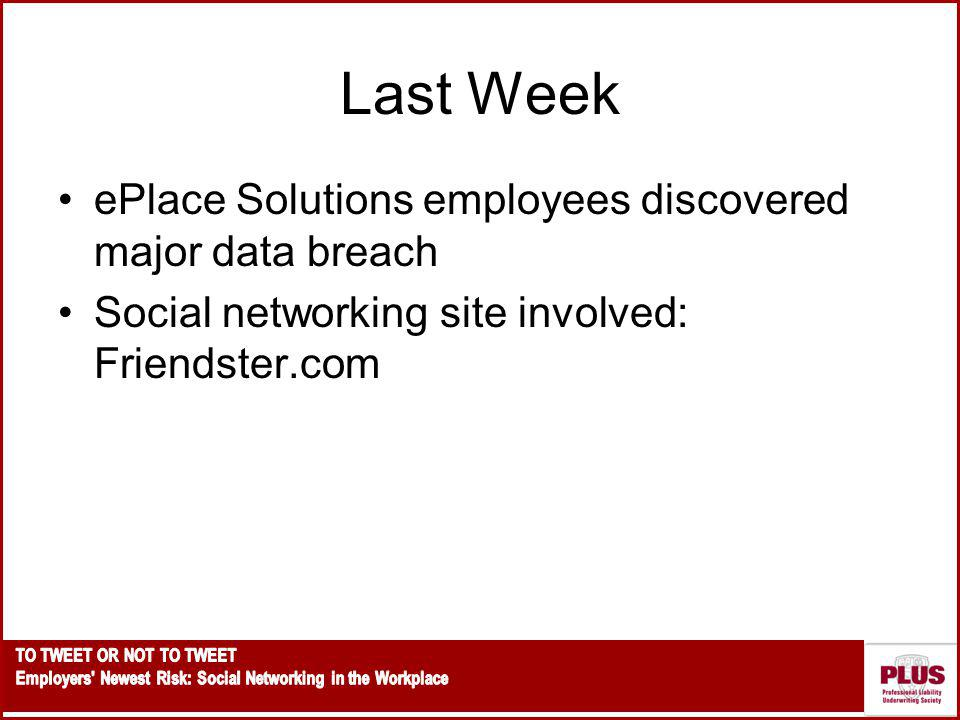 Last Week ePlace Solutions employees discovered major data breach