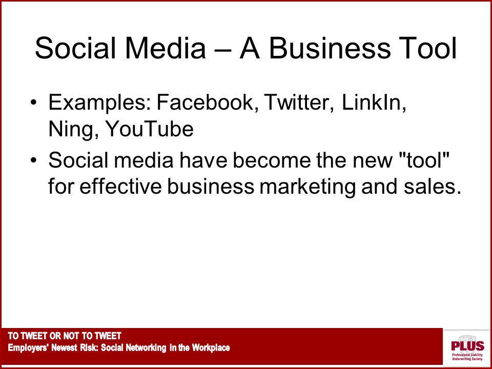 Social Media – A Business Tool