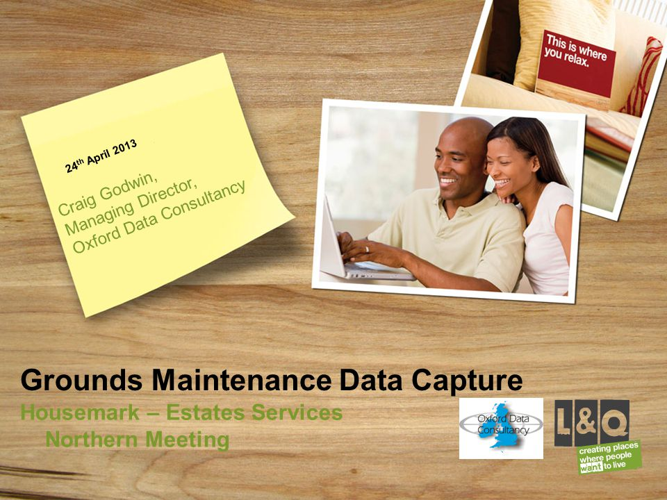 Grounds Maintenance Data Capture