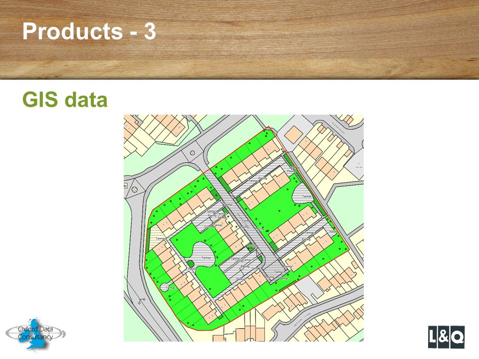 Products - 3 GIS data