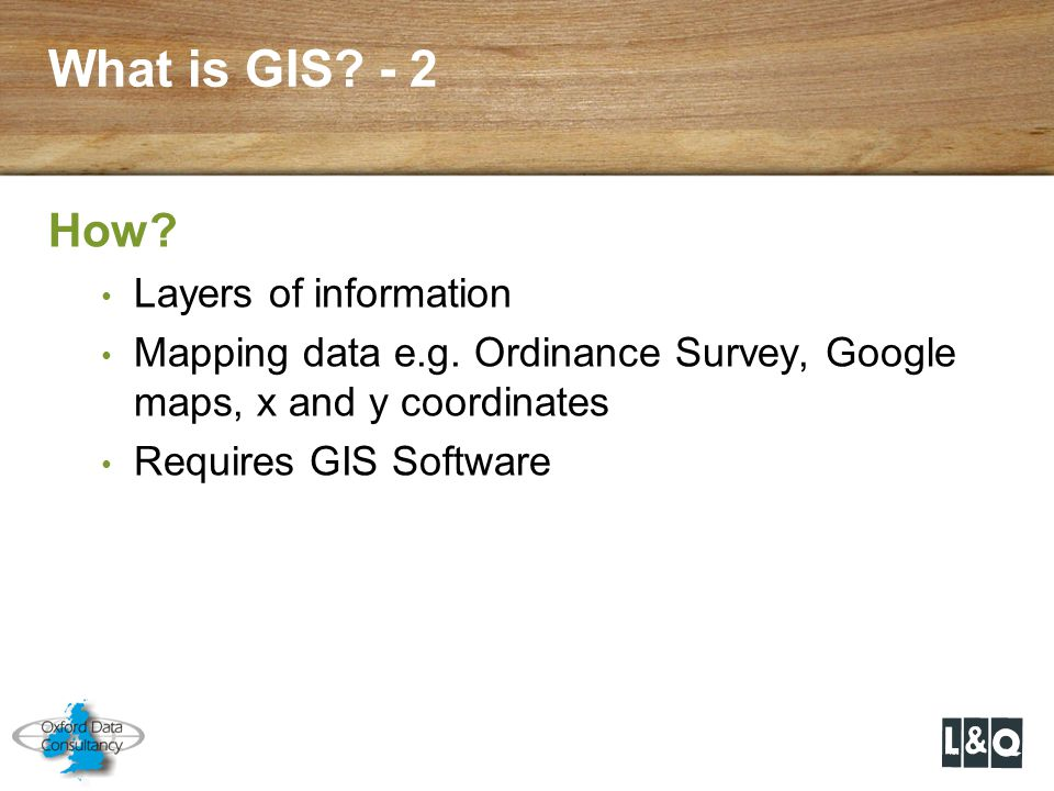 What is GIS - 2 How Layers of information